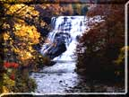 Photo of Ithaca falls in Autumn.